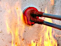 Brandwerende doorvoer afdichting