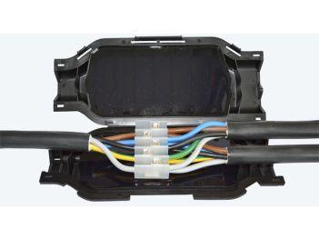 QUICKI verbindings- en aftakmof t/m 25/16mm²