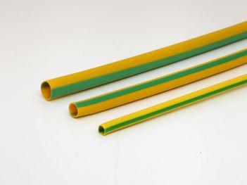 PVC sleeves green/yellow
